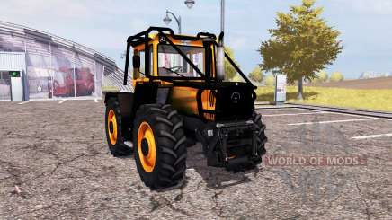 Mercedes-Benz Trac 1600 Turbo forest для Farming Simulator 2013