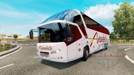 Bus traffic v1.7 для Euro Truck Simulator 2