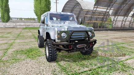 Land Rover Defender 90 для Farming Simulator 2017