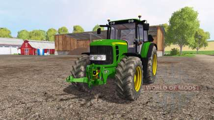 John Deere 6830 Premium для Farming Simulator 2015