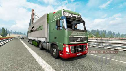 Painted truck traffic pack v3.2 для Euro Truck Simulator 2