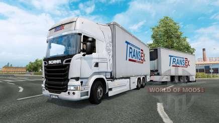 Tandem truck traffic v1.5 для Euro Truck Simulator 2