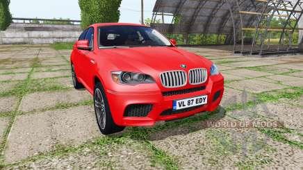 BMW X6 M (E71) для Farming Simulator 2017