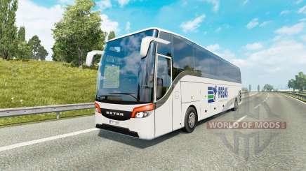 Bus traffic v1.8.1 для Euro Truck Simulator 2