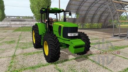 John Deere 6180J v2.0 для Farming Simulator 2017