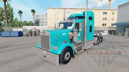 Скин Tum на тягач Kenworth W900 для American Truck Simulator