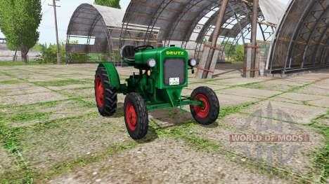 Deutz F1 M414 v0.1 для Farming Simulator 2017