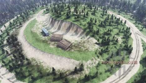 Сестра-гора v1.1 для Spin Tires
