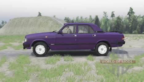 ГАЗ 3110 Волга для Spin Tires