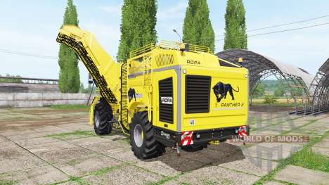 ROPA Panther 2 v1.0.0.2 для Farming Simulator 2017