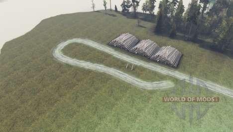 Западная Сибирь v0.5 для Spin Tires