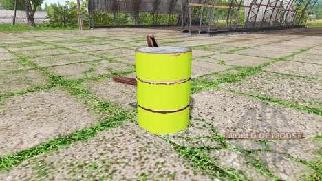 Barrel weight multicolor для Farming Simulator 2017