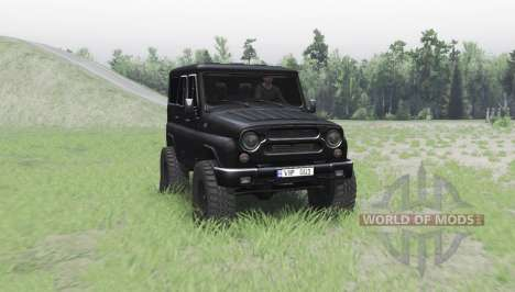 УАЗ 315195 Хантер турбо v2.0 для Spin Tires