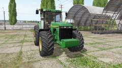 John Deere 8410 v3.3.6.9 для Farming Simulator 2017