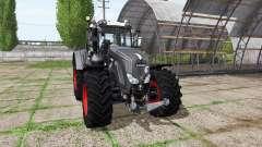 Fendt 924 Vario black beauty v3.7.7 для Farming Simulator 2017
