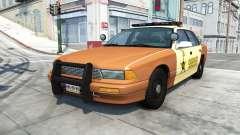 Gavril Grand Marshall sheriff v1.5 для BeamNG Drive