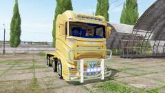 Scania R1000 container truck