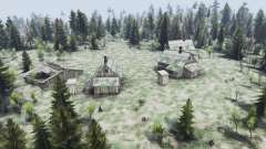 Russian map для Spin Tires
