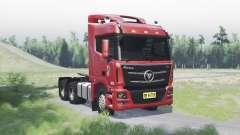 Foton Auman GTL для Spin Tires