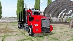 Kenworth T800 log truck