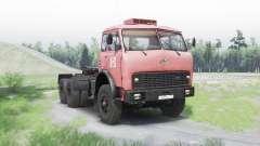МАЗ 515Б v1.25 для Spin Tires