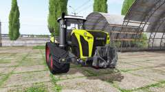CLAAS Xerion 4000 TerraTrac v1.2 для Farming Simulator 2017