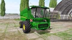 John Deere S670 для Farming Simulator 2017