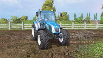 New Holland T4.115 front loader для Farming Simulator 2015