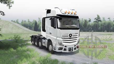 Mercedes-Benz Actros (MP4) 8x8 для Spin Tires