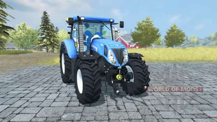 New Holland T7.210 v1.1 для Farming Simulator 2013