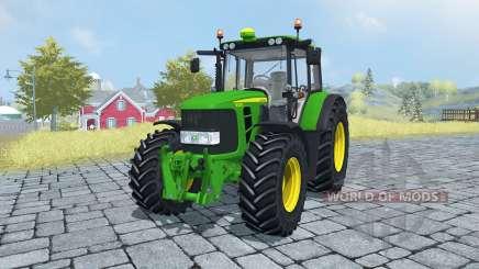 John Deere 6430 Premium front loader для Farming Simulator 2013