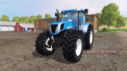 New Holland T7030 для Farming Simulator 2015