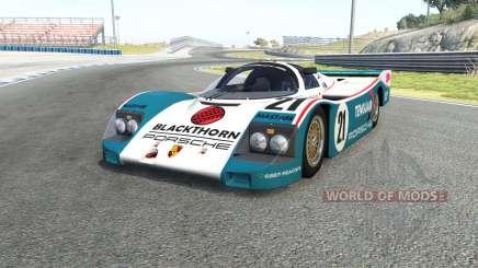 Porsche 962C для BeamNG Drive
