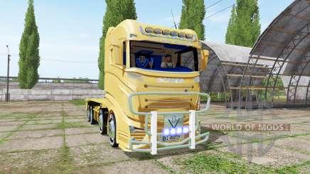 Scania R1000 container truck для Farming Simulator 2017