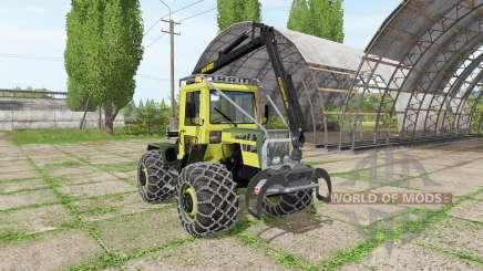 Mercedes-Benz Trac 800 forest для Farming Simulator 2017