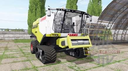 CLAAS Lexion 780 TerraTrac для Farming Simulator 2017