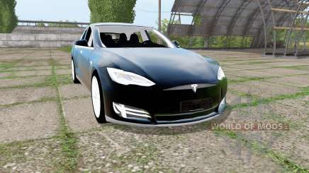 Tesla Model S 2017 для Farming Simulator 2017
