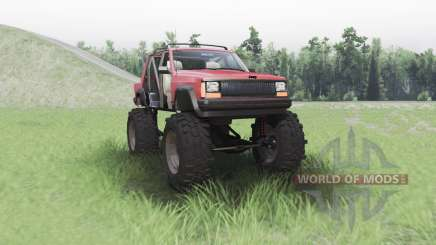 Jeep Cherokee (XJ) chopped для Spin Tires