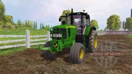 John Deere 6130 для Farming Simulator 2015