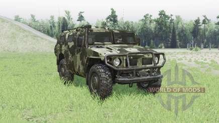 ГАЗ 2330 Тигр для Spin Tires