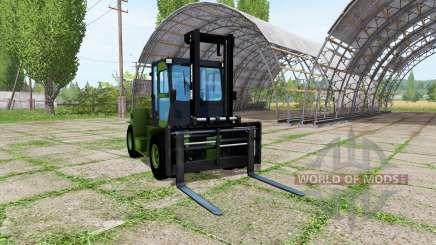 Clark C80D v2.1 для Farming Simulator 2017