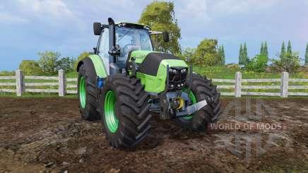 Deutz-Fahr Agrotron 7250 front loader для Farming Simulator 2015