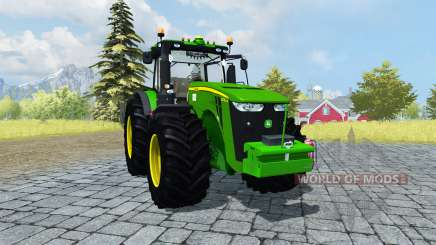 John Deere 8310R v2.1 для Farming Simulator 2013