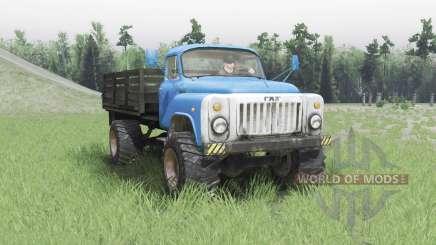 ГАЗ 53 4x4 v2.0 для Spin Tires