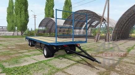 Bale trailer v1.0.0.3 для Farming Simulator 2017