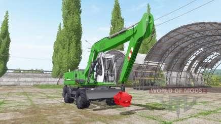 Liebherr A 900 Compact Litronic для Farming Simulator 2017