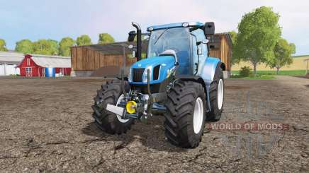 New Holland T6.160 front loader для Farming Simulator 2015
