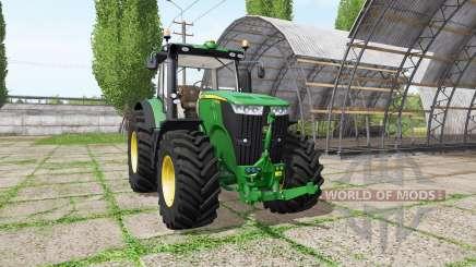 John Deere 7230R v1.1 для Farming Simulator 2017