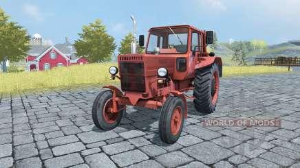МТЗ 80 Беларус v2.0 для Farming Simulator 2013