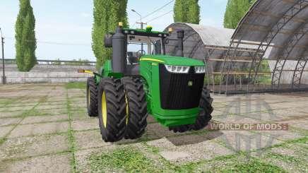John Deere 9520R v5.0.4 для Farming Simulator 2017